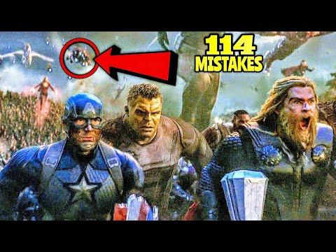 """114 Mistakes In Avengers Endgame - Plenty Mistakes In """"Avengers: Endgame"""" Full Movie"""