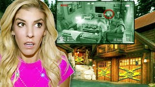 Video SOMEONE BROKE into OUR HOUSE! (Trapping Game Master in Abandoned Cave finding secret hidden clues) MP3, 3GP, MP4, WEBM, AVI, FLV Juni 2019