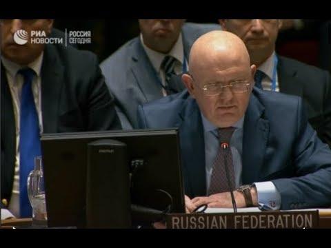 Экстренное заседание Совбеза ООН - DomaVideo.Ru