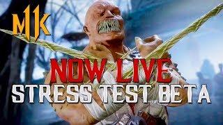 Mortal Kombat 11: Baraka Gameplay! (STRESS TEST BETA)