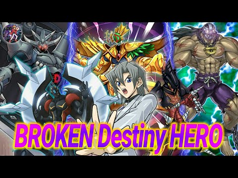 🔥YUGIOH - Draw Power☇ Destiny HERO Deck☛ Consistent☚( MR5+Deck Profile+Duels)《YGOPRO/EDOpro》Jhero YG