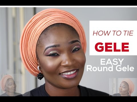How To Tie Gele | Easy Gele Tutorial