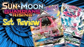 POKEMON TCG SUN AND MOON GUARDIANS RISING SET REVIEW WITH SHADOW TCG by Demon SnowKing