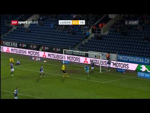 Luzern - Young Boys 1:2 03.12.2014 (видео)