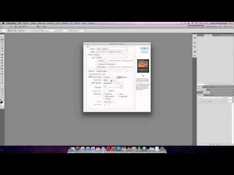 Tworzenie galerii internetowych w Photoshopie - poradnik wideo