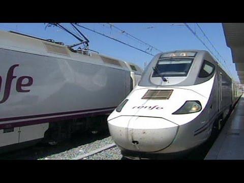 Madrid: Super-Schnellzug AVE - Schnell mal von Madr ...