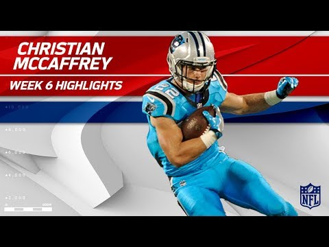 Video: Christian McCaffrey's Big Night w/ 10 Catches! | Eagles vs. Panthers | Wk 6 Player Highlights