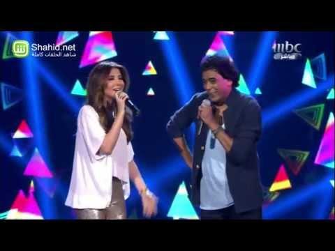 """منير يغني مع نانسي """"حارة السقايين"""" على مسرح """"Arab Idol"""""""