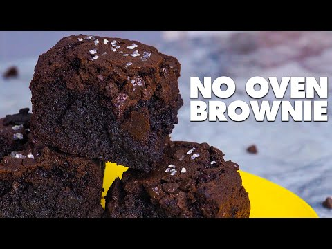 No Oven Brownies Recipe for Beginners! (Easy No Bake Brownies Recipe)