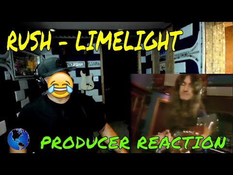 Rush Limelight Official Music Video - Producer Reaction