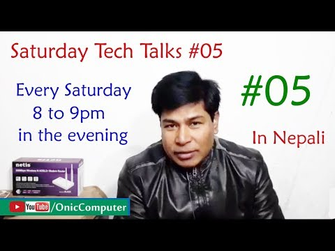 #05 Saturday Tech Talks (Q & A) - Live Stream By Onic Computer [In Nepali]