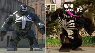 Evolution of Venom in LEGO Marvel Games