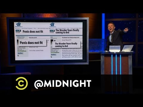 Kurt Braunohler, Chris Jericho, Andy Kindler - Weight Listing - @midnight