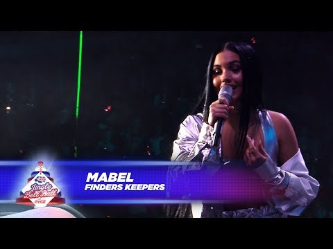 Mabel - 'Finders Keepers' - (Live At Capital's Jingle Bell Ball 2017)