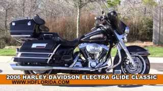 7. Used 2006 Harley Davidson Electra Glide Classic Motorcycles for sale