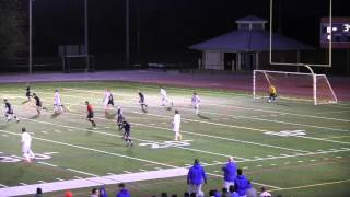 Staples Soccer FCIAC Quarter-Finals vs. Danbury 2014