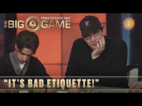The Big Game S2 ♠️ E20 ♠️ Phil Hellmuth vs Phil Laak and Loose Cannon ♠️ PokerStars
