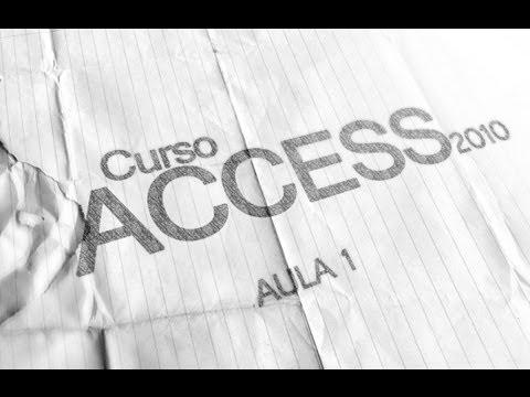 access - introduçao do curso de access 2010 ,vamos falar sobre a interface e outras informaçoes.