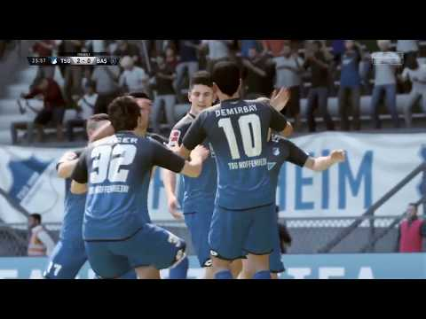 FIFA 18 | Hoffenheim Vs Basaksehir | Europa League Group Stage 2017/18 | Full Gameplay PS4