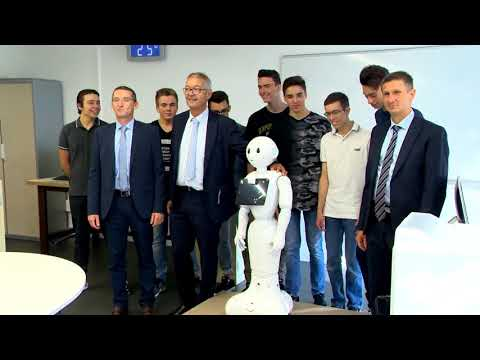 Monaco's Vocational and Catering School opens up to smart technologies