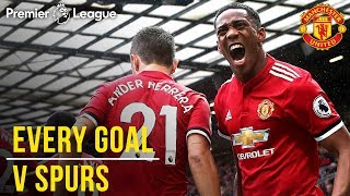 Video EVERY Premier League Goal v Spurs at Old Trafford! | Manchester United v Tottenham Hotspur MP3, 3GP, MP4, WEBM, AVI, FLV Agustus 2019
