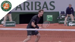Shots of the day - Day 5 French Open 2015