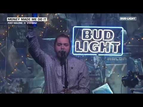 Video Post Malone - Money Made Me Do It (Live From The Bud Light x Post Malone Dive Bar Tour Nashville) download in MP3, 3GP, MP4, WEBM, AVI, FLV January 2017