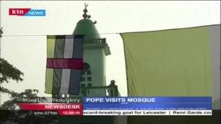 Pope Set To Visit Mosque In Flashpoint Neighbourhood Of Central African Republic
