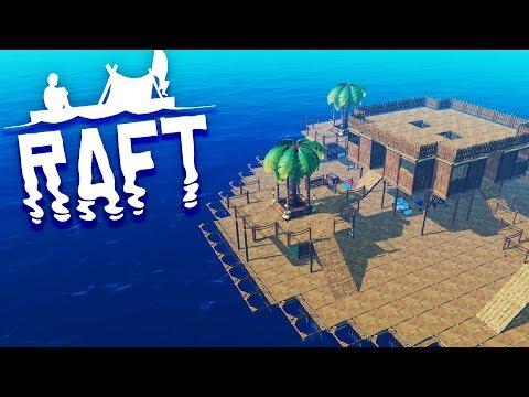 BUILDING A HOME! Raft Survival Episode 6