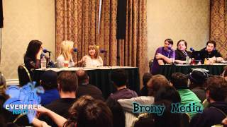 BroNYCon Winter 2012 - Full Voice Actress Panel - High Quality
