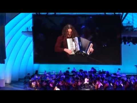 140913 – Weird Al Yankovic performance @ The Simpsons Take the Hollywood Bowl ~~