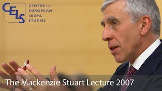 'Human Rights in the 21st Century': 2007 Mackenzie Stuart Lecture - Jack Straw