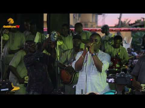 K1'S PERFORMANCE AT OBA IGANDO 4OTH YEARS CORONATION COMPLETE EVENT