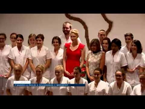 Students in Princess Charlene class awarded diplomas