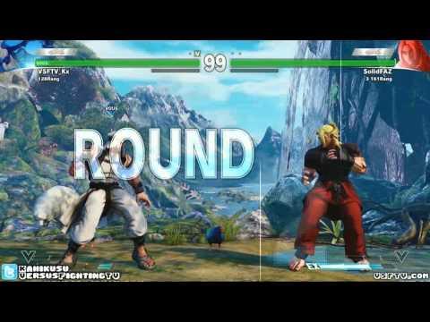 street fighter v (beta) - rashid gameplay
