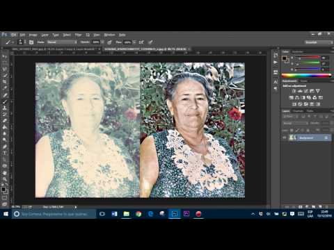 Restaurar Una Fotografía En Photoshop