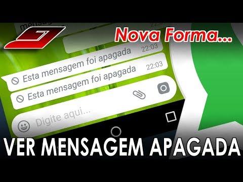 Nova forma de VER mensagens APAGADAS no WHATSAPP (FUNCIONA 100%)  Guajenet