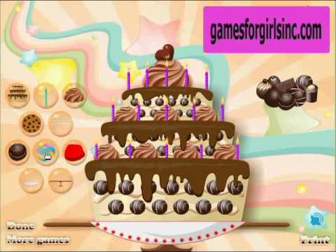 Game Cooking Cake