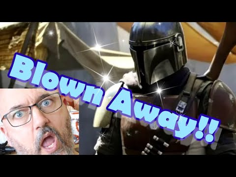 BLOWN AWAY! - Star Wars Mandalorian Trailer Reaction