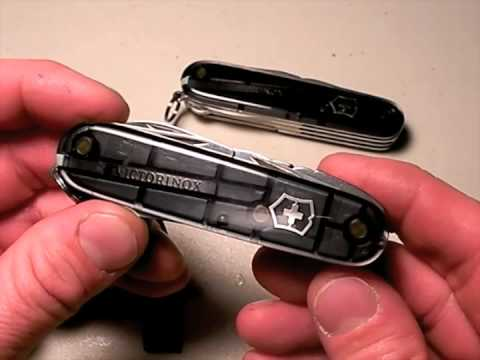Victorinox Super Tinker & Mechanic knives:  Definitive Cool