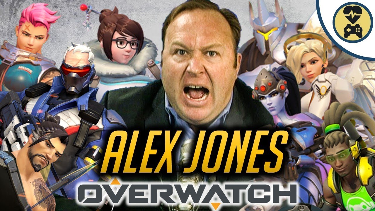 Alex Jones As Every Overwatch Hero