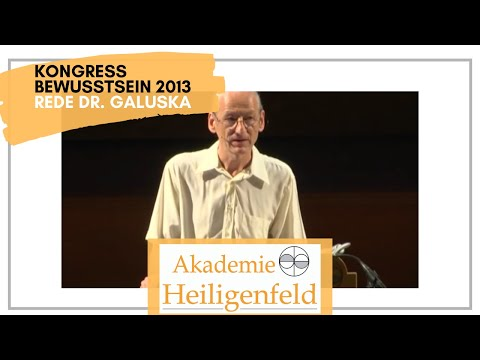 Kongress Heiligenfeld 2013 | Vortrag Dr. Joachim Galuska | Leben