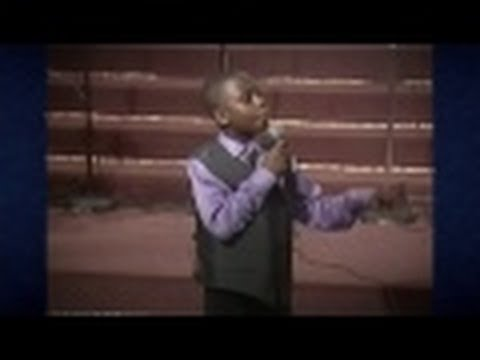 10 Yr Old Preach - Jesus Resurrection!!