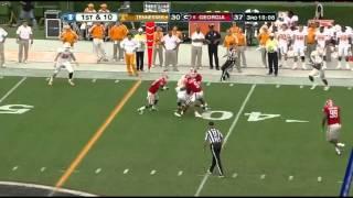Alec Ogletree vs Tennessee (2012)