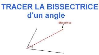 Maths 6ème - Les Bases De La Géométrie : La bissectrice d'un angle Exercice 14
