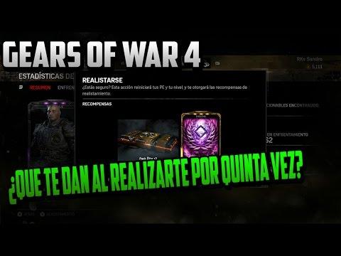 Gears of war 4 ¿Que te dan por realizarte una quinta vez?