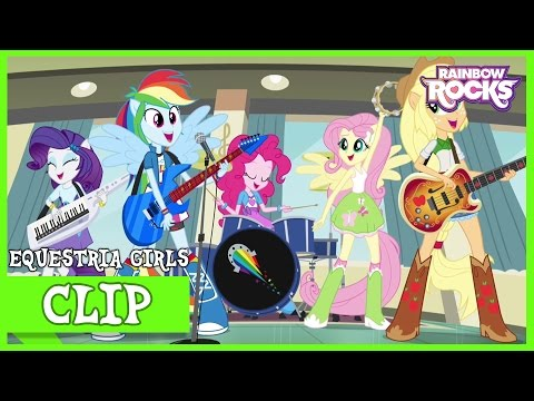 Rainbooms Rehearsal | MLP: Equestria Girls | Rainbow Rocks! [HD]