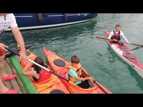 Activitat de caiac de mar
