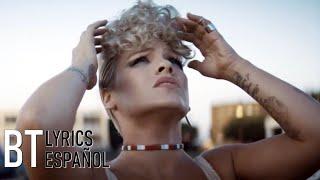 Video P!nk - What About Us (Lyrics + Español) Video Official MP3, 3GP, MP4, WEBM, AVI, FLV Januari 2018