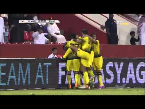 Dibba 0 x Al Wasl 3 AG League 19 12 2015  Goals